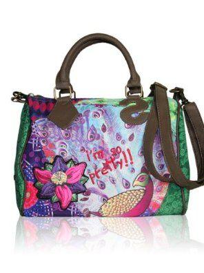 Desigual Damen Designer Handbag Bouling Pea 54 99