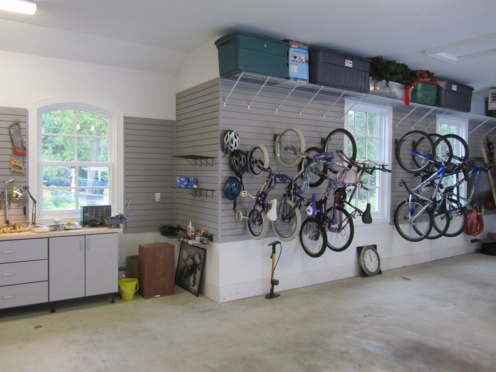 Garage Organization For A Family Of 10 Shelving IdeasStorage