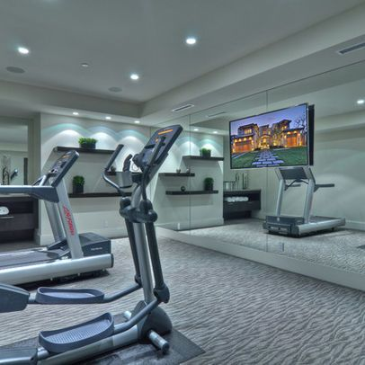gym tv design pictures remodel decor and ideas with