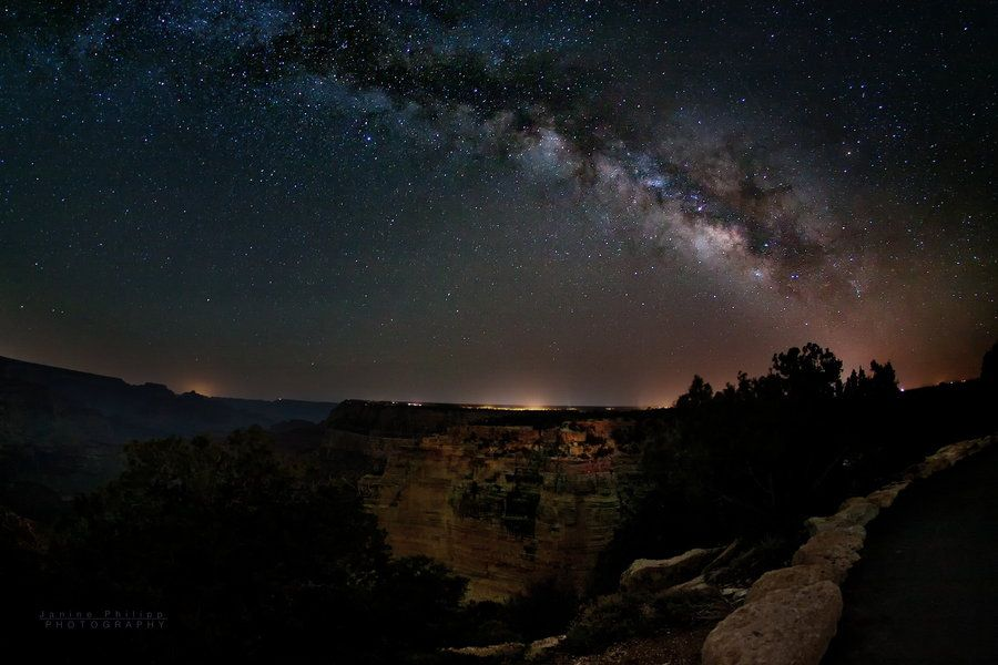 500px / Photo celestial bridge over the grand canyon by Janine Philipp
