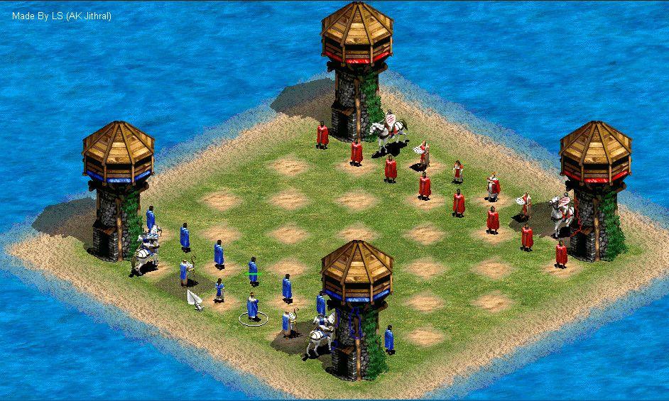 Aoe2 Chess By Jithral On Deviantart Con Imagenes Juegos Anos 90