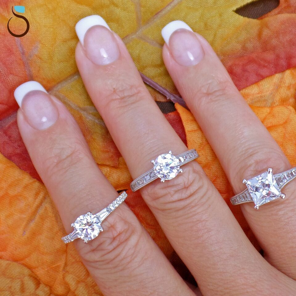 Eeenie meenie miney moe... | Wedding - Rings Sylvie | Pinterest ...