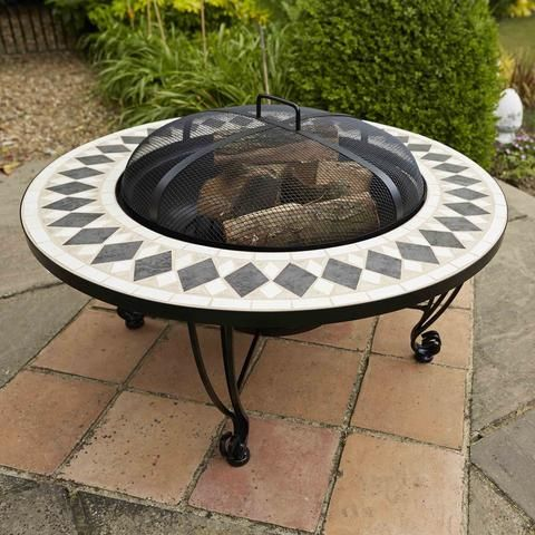 LeisureGrow Caldera Ceramic Firepit - 76cm   conservatory   Pinterest