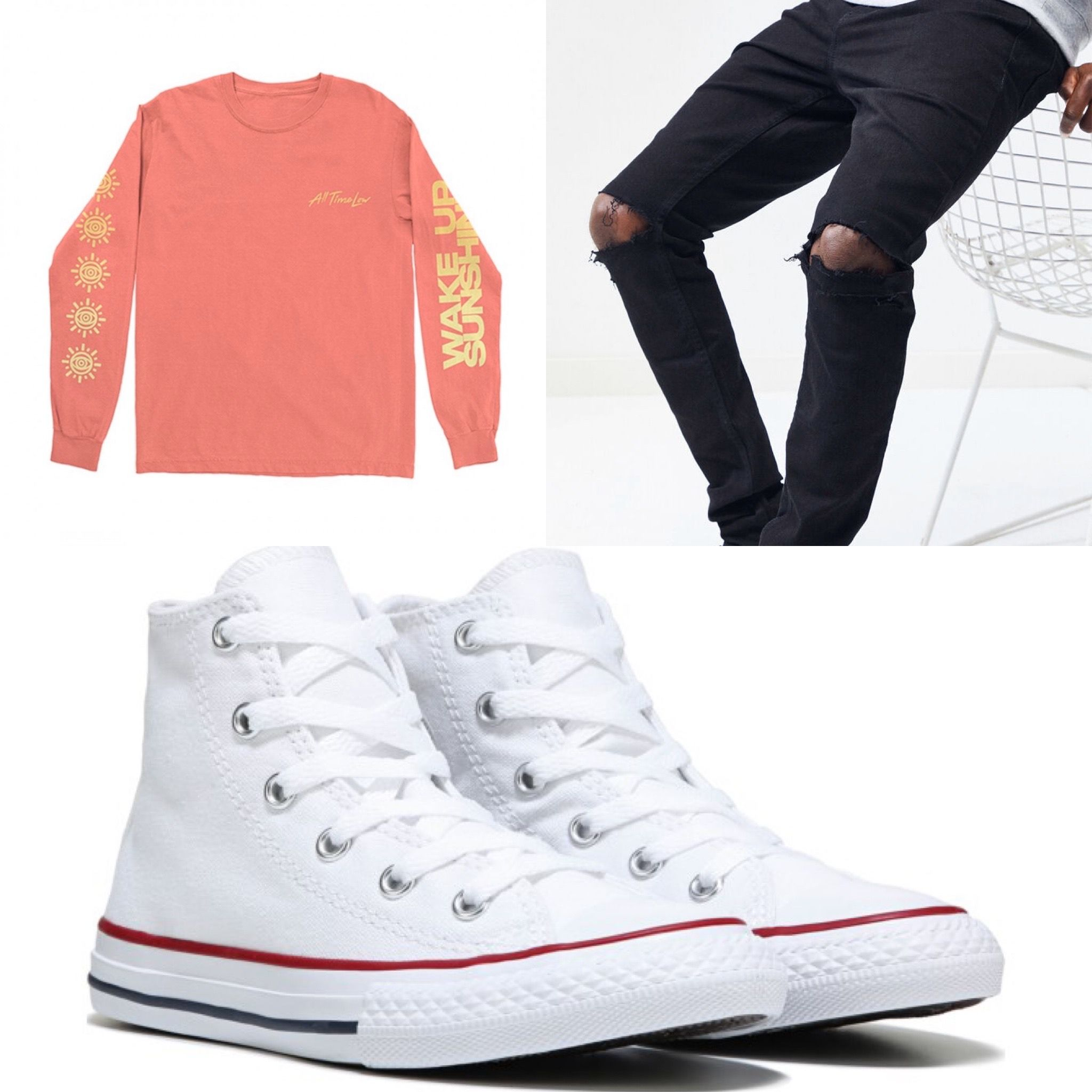 Summer Fit Idea Converse High Top Sneaker Converse Chuck Taylor High Top Sneaker High Top Sneakers