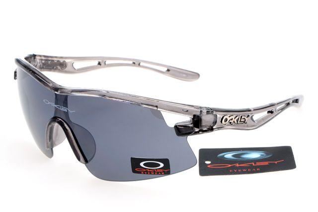 4059f091de Oakley Photochromic Sunglasses Gray and White Frame Gray Lens 0809   ok-1819  -  12.50   Cheap Sunglasses