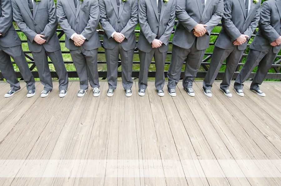 Unique Wedding Shoes Ideas Converse On Groom And Groomsmen