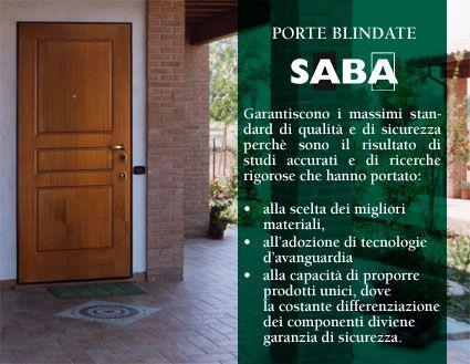 SABA S.r.l. - Produzione porte blindate Ermetika
