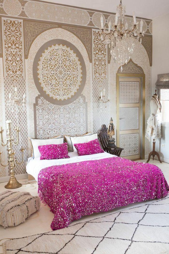 Le pochoir oriental - style pour vos murs et pour vos mains ...