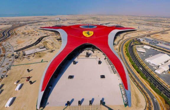 The World's Fastest Roller Coasters! | Ferrari world, Ferrari world abu dhabi, Abu dhabi