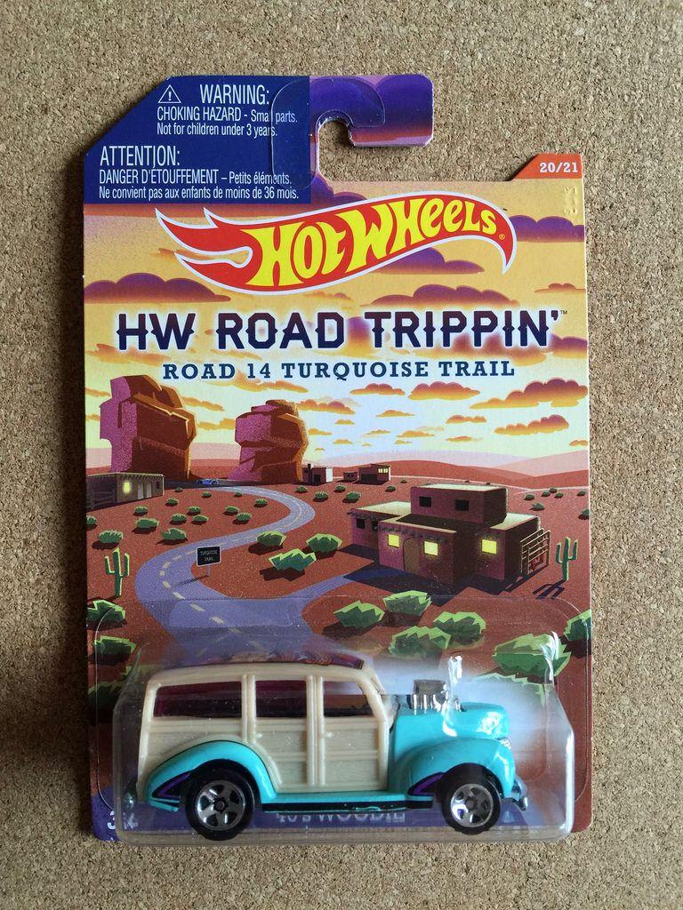Mattel hot wheels hw road trippin series 20 21 road 14