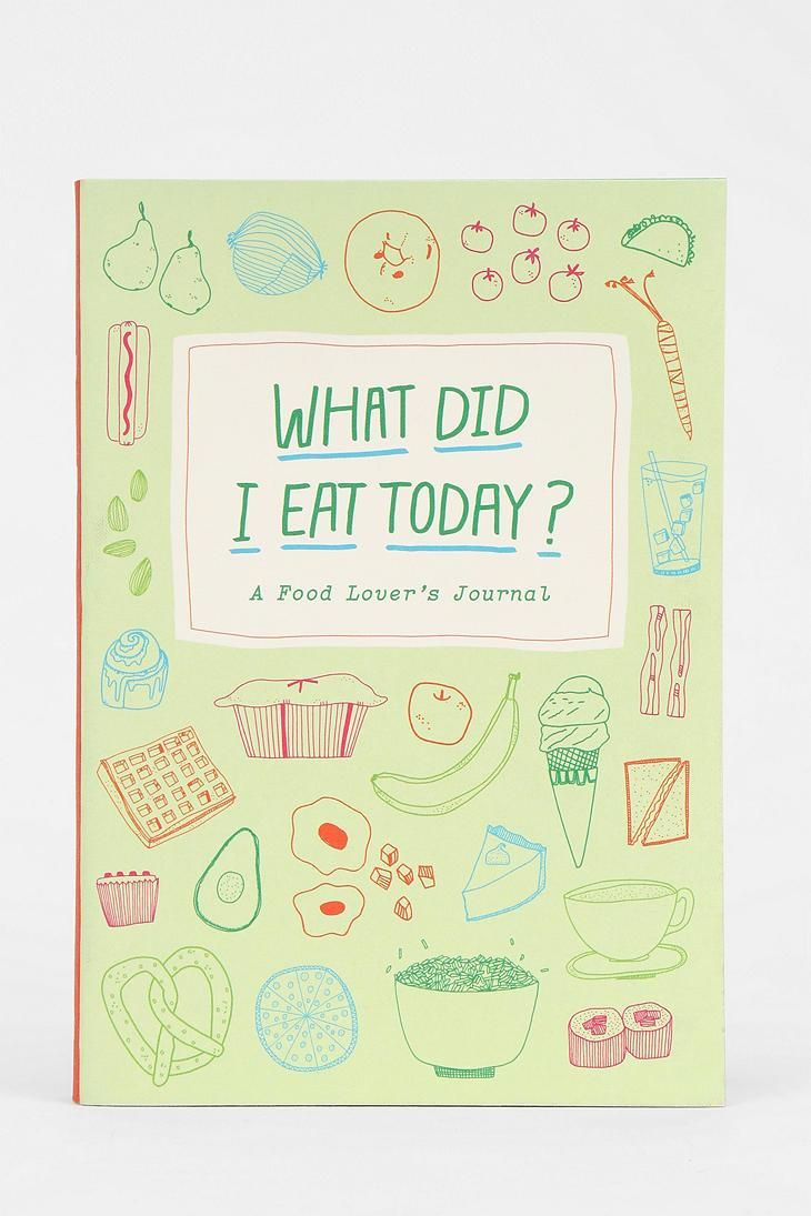 A Food Lover's Journal #urbanoutfitters