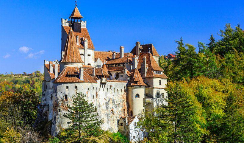 Bran Castle Medieval Castles In Europe European Castles Most Haunted