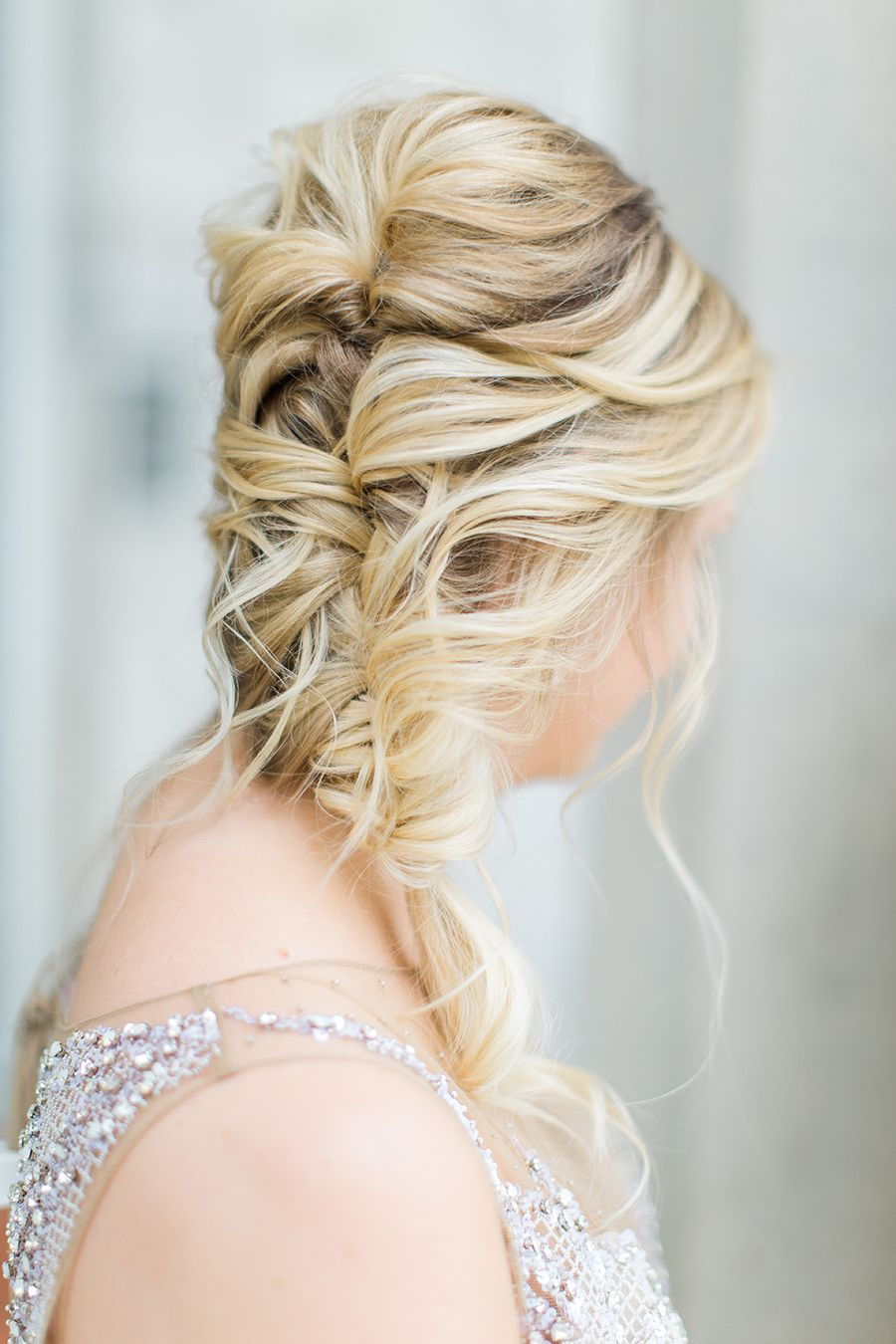 Effortless Wedding Day Glam In Pewter And Pastels Wedding Day