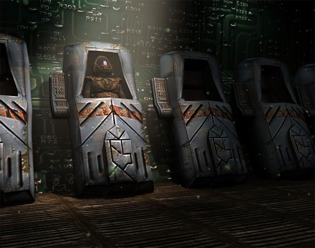 Cryo Chamber Image Christianthomas3d Episode Interactive Backgrounds Fantasy City Sci Fi Rpg