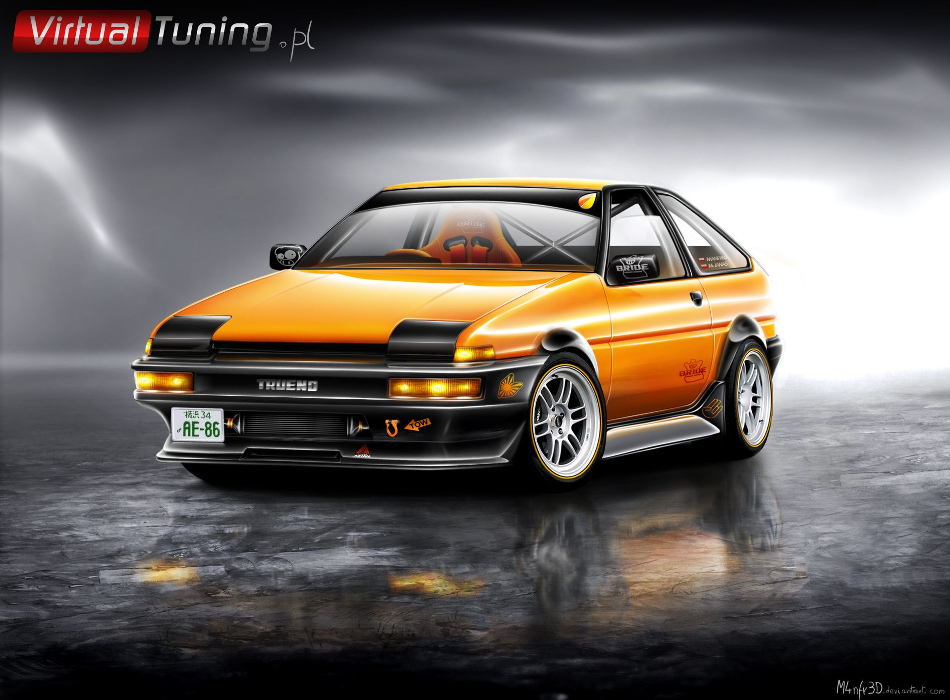 toyota corolla ae86 old school toyota trueno ae86. Black Bedroom Furniture Sets. Home Design Ideas