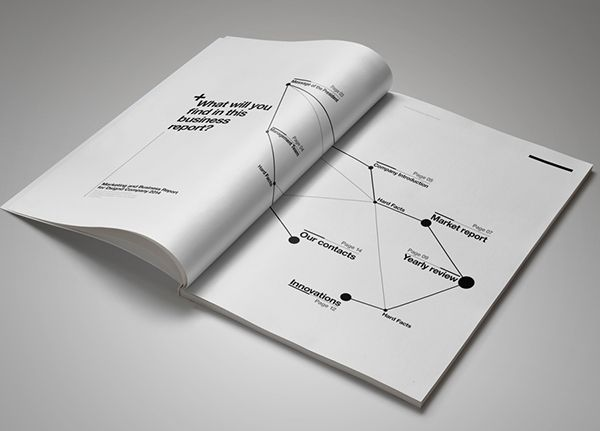 Suisse Design Marketing Brochure u2013 16 PagesMinimal and - marketing report