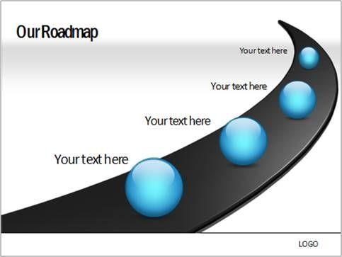 road map powerpoint template free free powerpoint templates roadmap