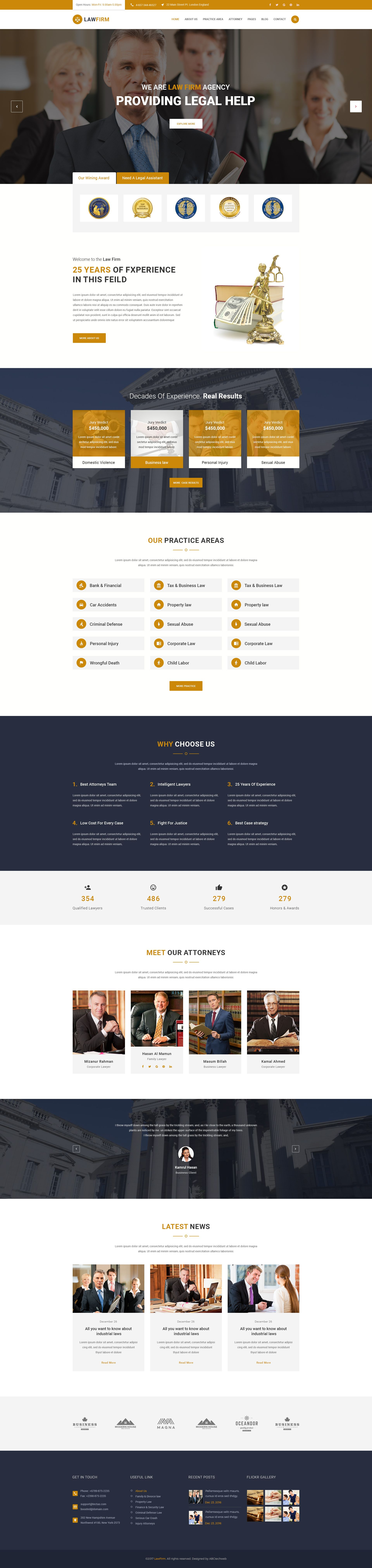 LawFirm- Injury, Traffic Ticket, Wealth Planning, Defense, Construction & Insurance PSD Template #insurance law #justice #law • Download ➝ https://themeforest.net/item/lawfirm-injury-traffic-ticket-wealth-planning-defense-construction-insurance-psd-template/19738419?ref=pxcr