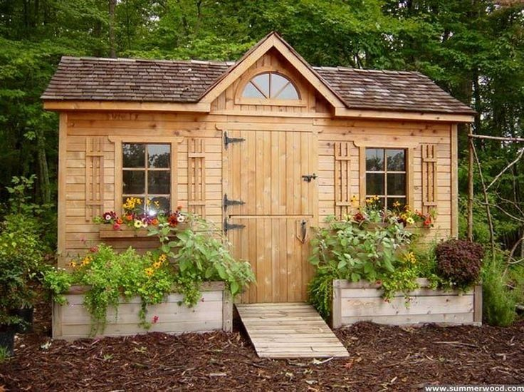 Cute Sheds Top Blue Artichoke Interiors Decorated Garden Sheds