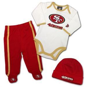 7e4c3f4b 49ers Baby Big Logo Playtime Outfit #baby #kids #49ers | San ...
