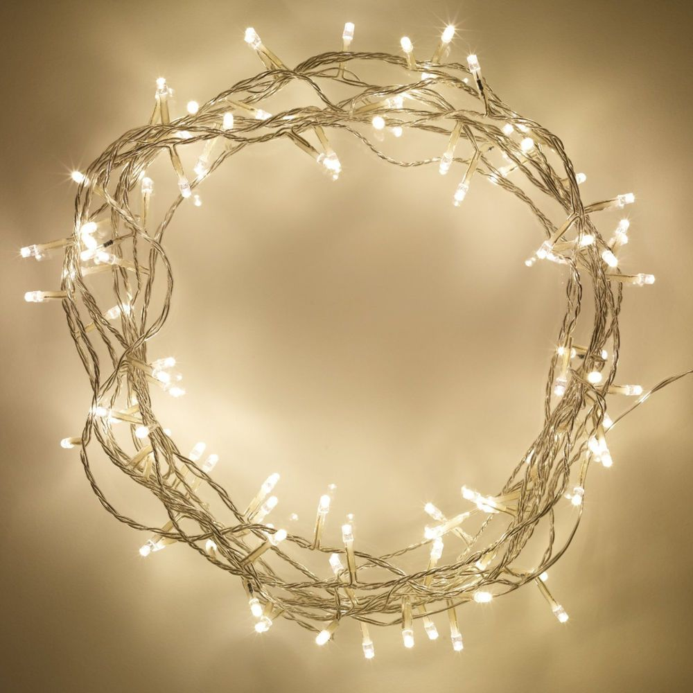 Indoor Fairy Lights With 100 Warm White Leds White Fairy Lights Fairy Lights Bedroom Warm White Fairy Lights