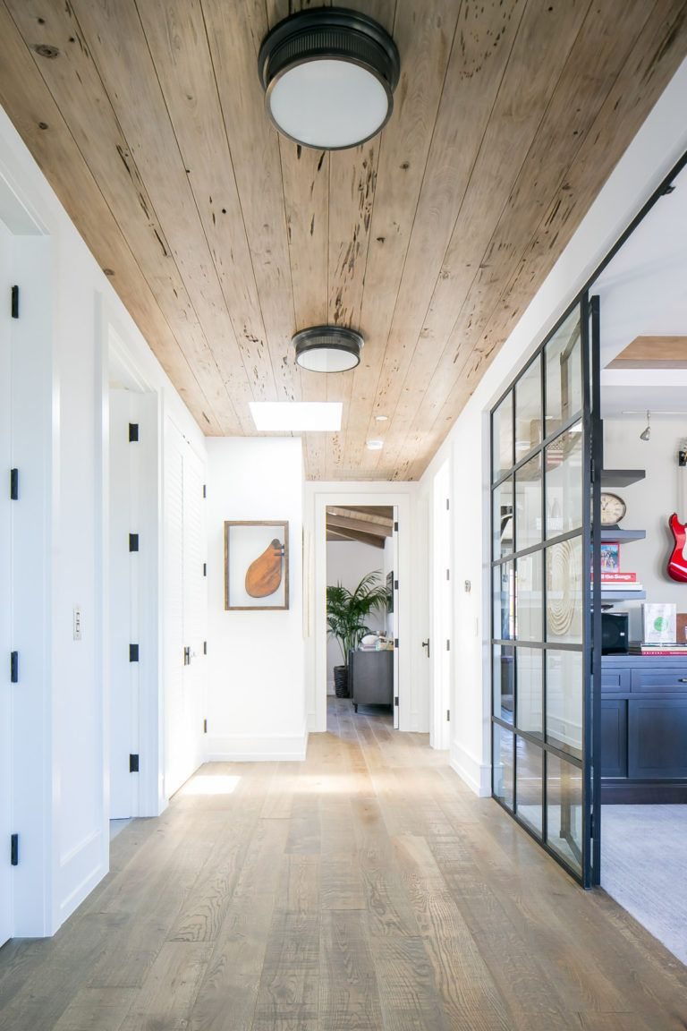 Orchid Hallway Designs Home Tongue And Groove Ceiling