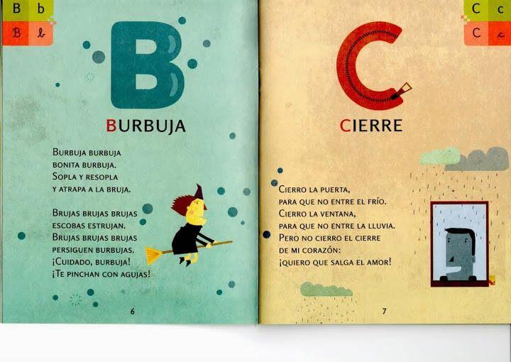 Maestra de Primaria: Pequeños poemas con las letras del abecedario ...