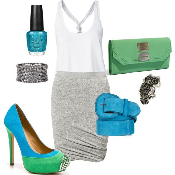 Fun Shoes, created by alana2187.polyvore.com