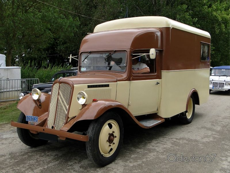 citro n t23 camping car 1938 oldiesfan67 food truck. Black Bedroom Furniture Sets. Home Design Ideas