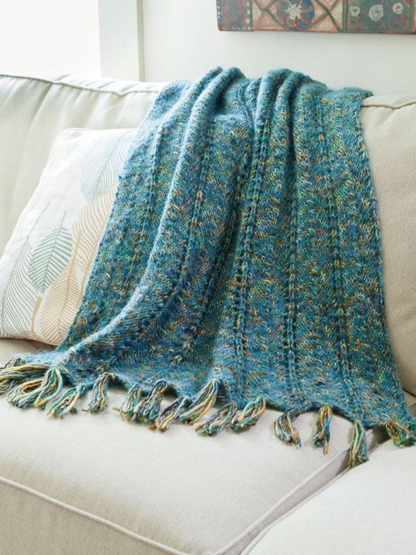 Kachess Afghan Free Knitting Pattern From Berroco Sewing Room