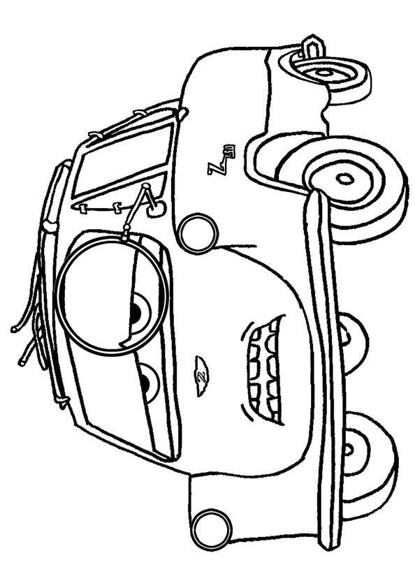 #Disney #Pixar #Cars #coloringpage MomJunction - A ...