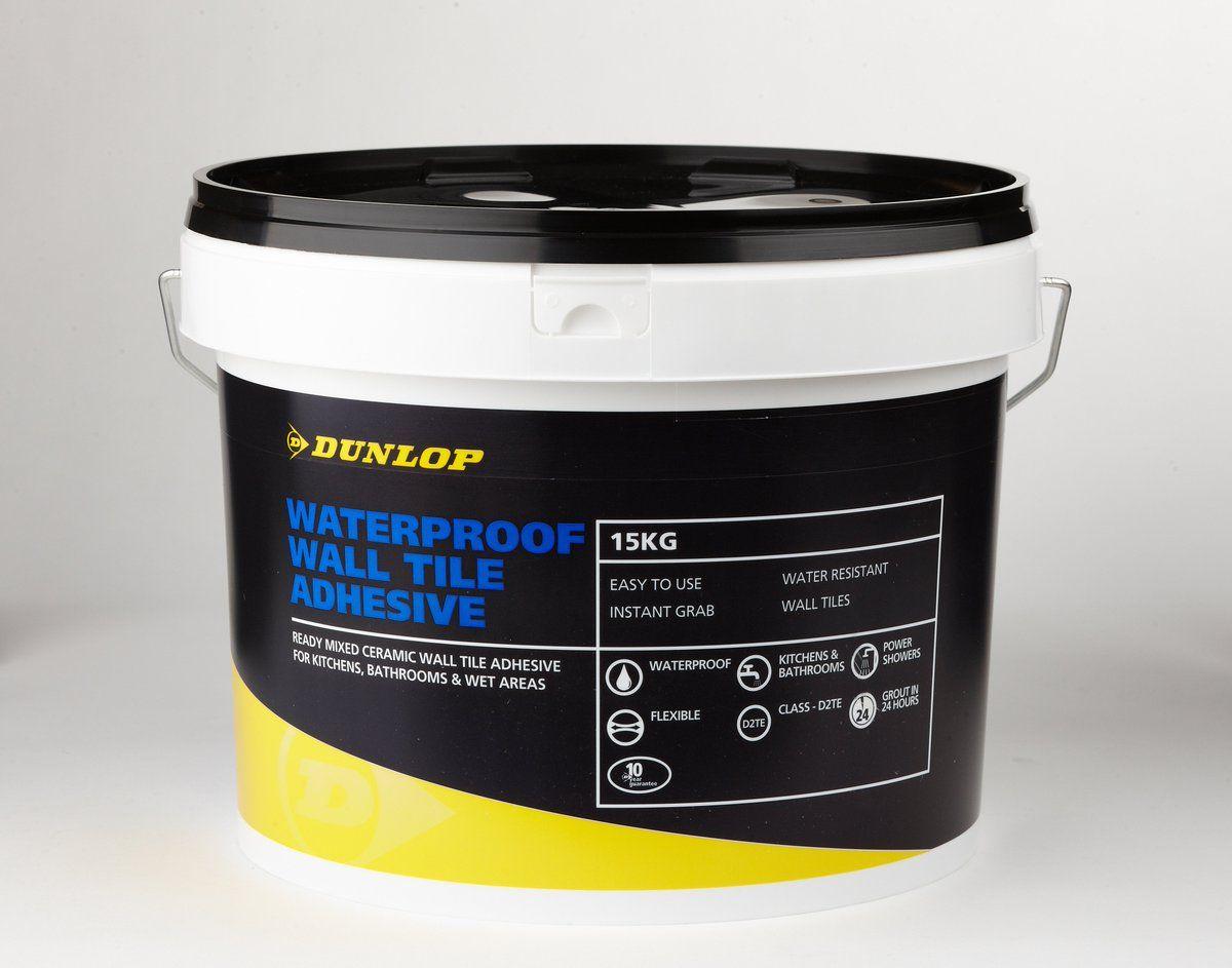 Dunlop waterproof wall tile adhesive httpwww