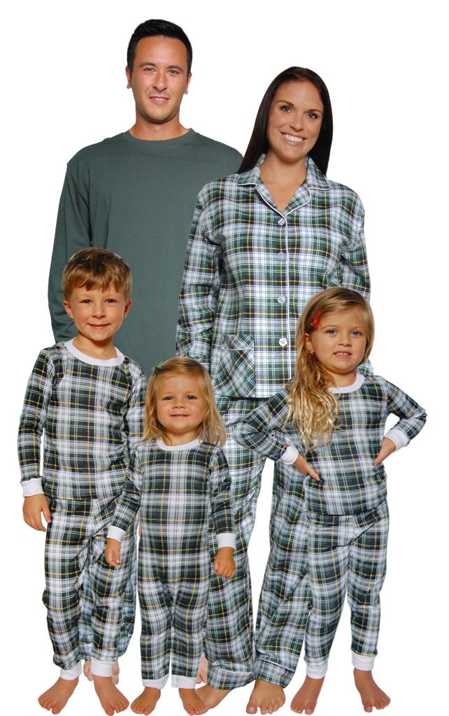 Matching Family Pajamas A Holiday Tradition and Hot