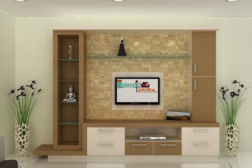 Tv Units Modern By Splendid Interior Designers Pvt Ltd Modern