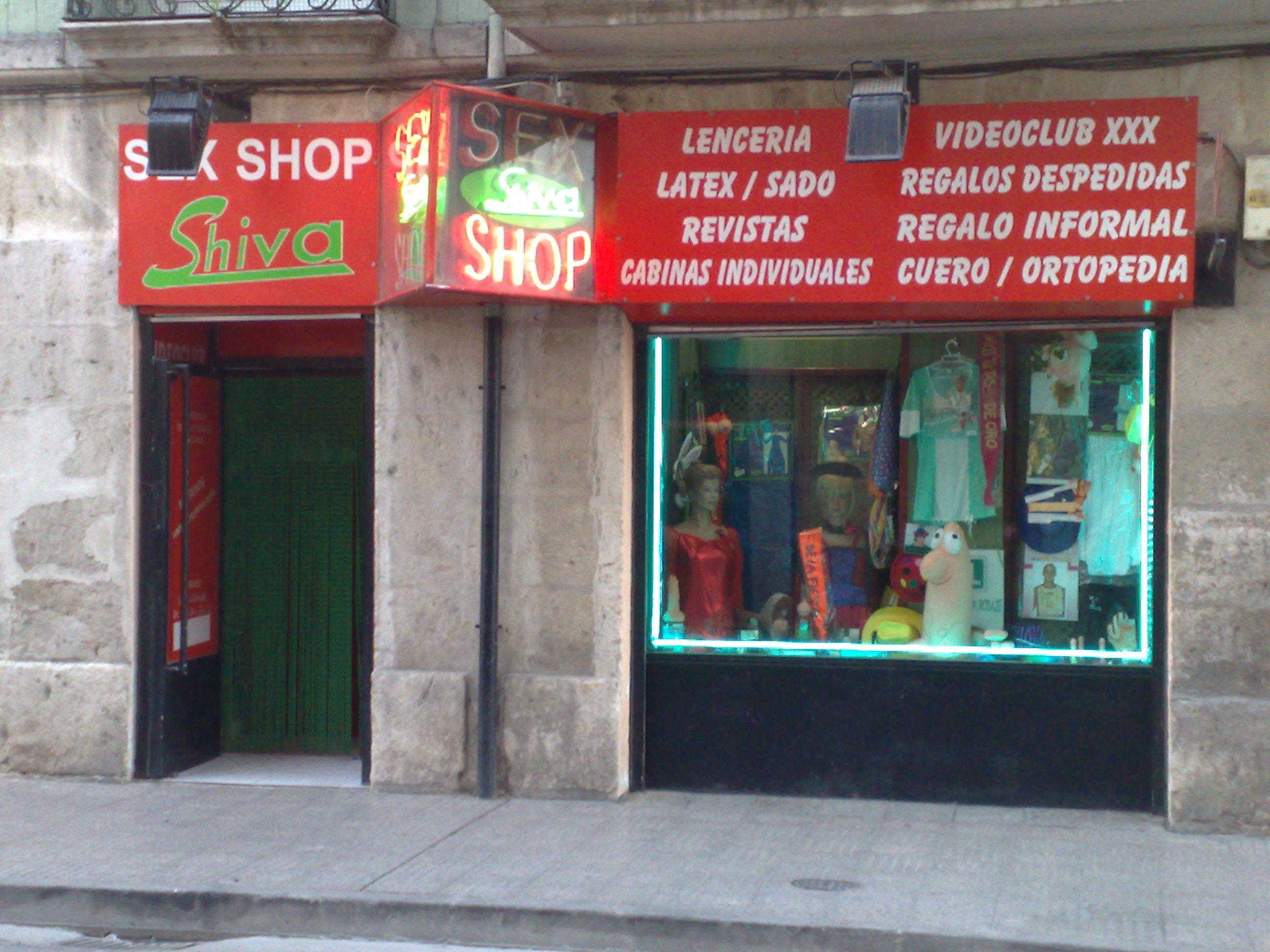 Nuestra tienda en C/ Santa Cruz, 13. Artículos eróticos. Lenceria ...