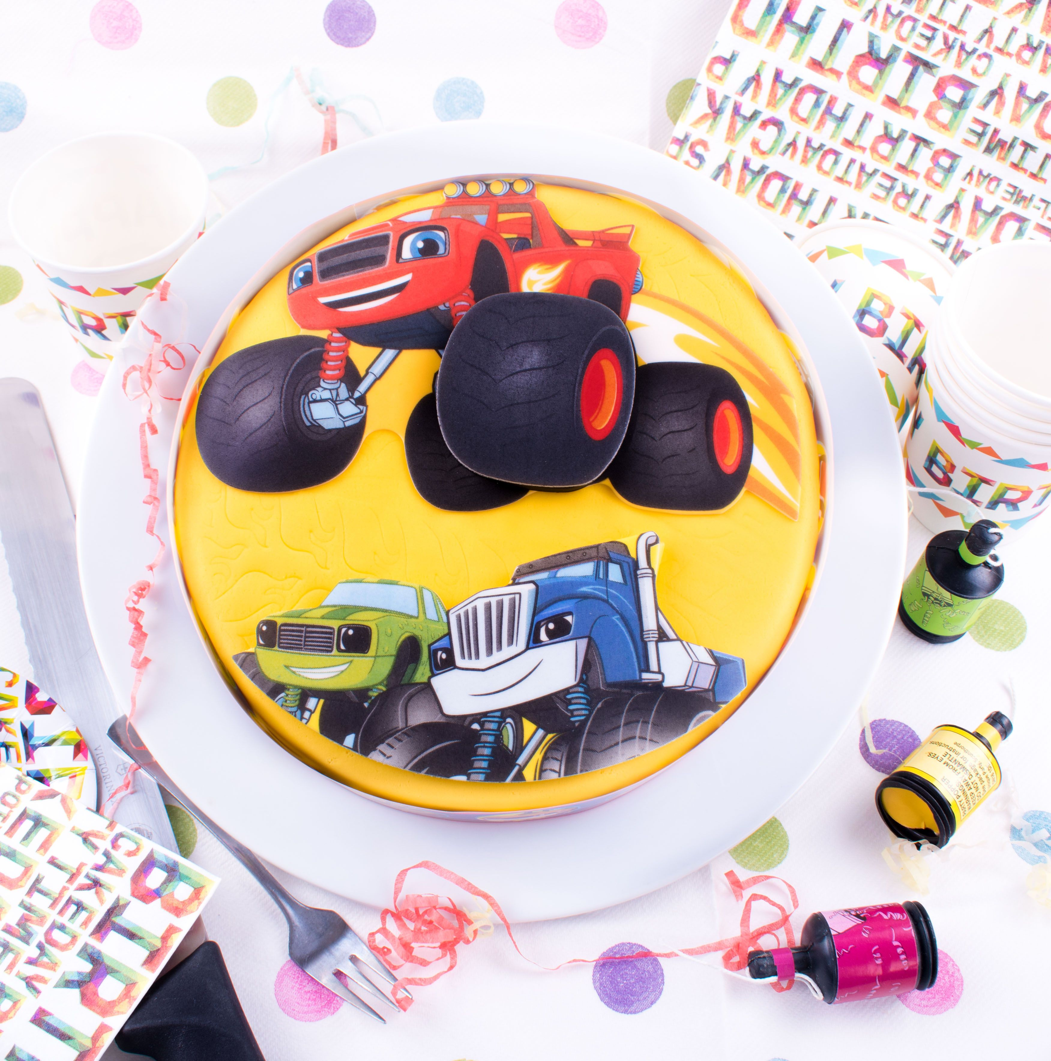 Kids hooked on Blaze and the Monster Machines? Theme their party ...