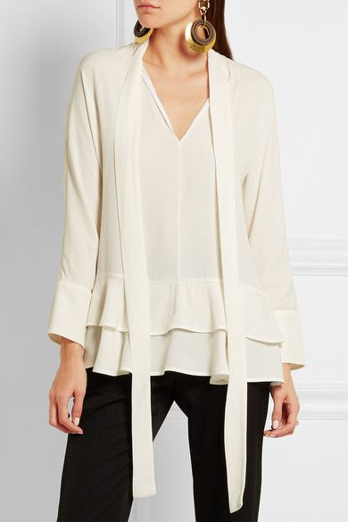Marni crepe blouse Clearance Store Sale Online Many Kinds Of Online dzfi1Bb