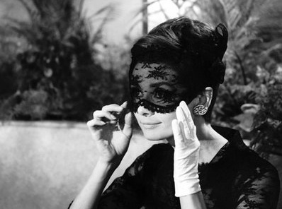 audrey lace mask オードリー ヘップバーン オードリーへップバーン おしゃれ泥棒
