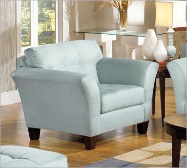 Light Blue Accent Chair