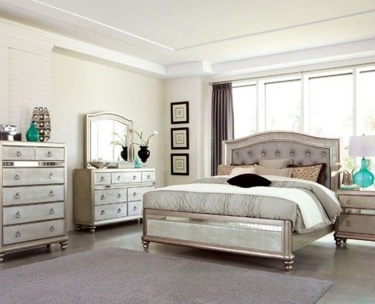 45 Simple Master Bedroom Decorating Ideas Page 36 Of 49 Bedroom Set Mirrored Bedroom Furniture Furniture