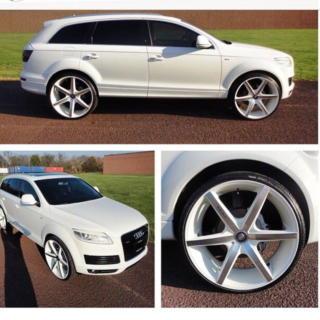 """Price For Audi Suv: 26"""" Lexani Wheels R-Six In Machined & Custom Paint Matched"""