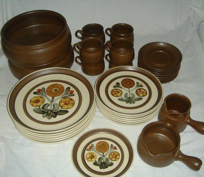 Lot of 33 Pieces Denby / Langley Dinner Ware - Mayflower Pattern - Made England #. Dinner WareDinnerware & Lot of 33 Pieces Denby / Langley Dinner Ware - Mayflower Pattern ...