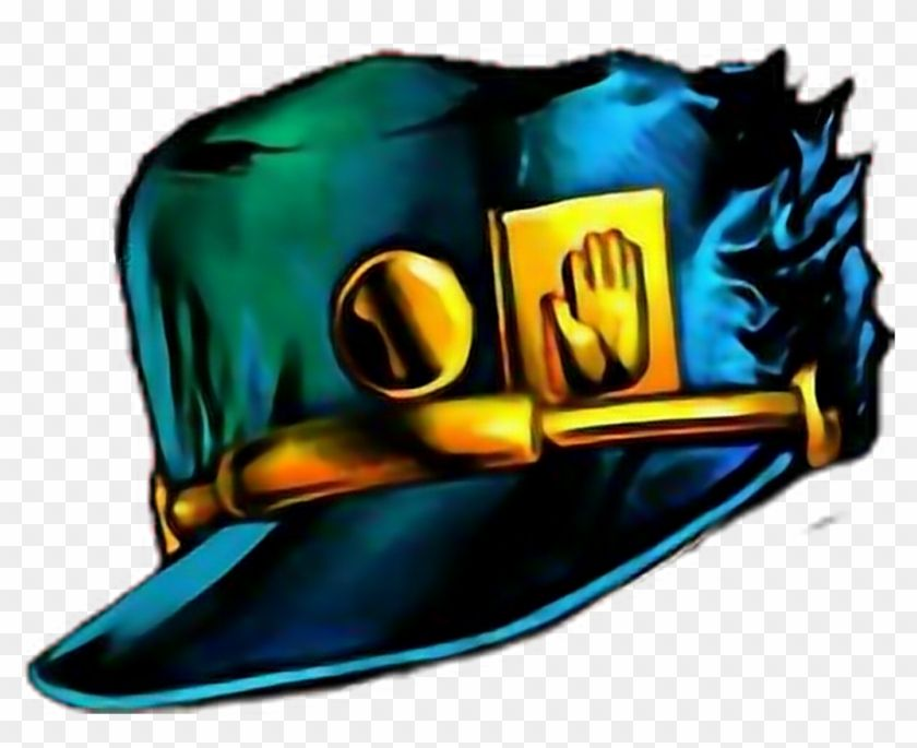 Find Hd Jojo S Sticker Jojo Jotaro Hat Png Transparent Png Is Free Png Image Download And Use It For Your Non Commercial Projects Jotaro Hat Png Jojo