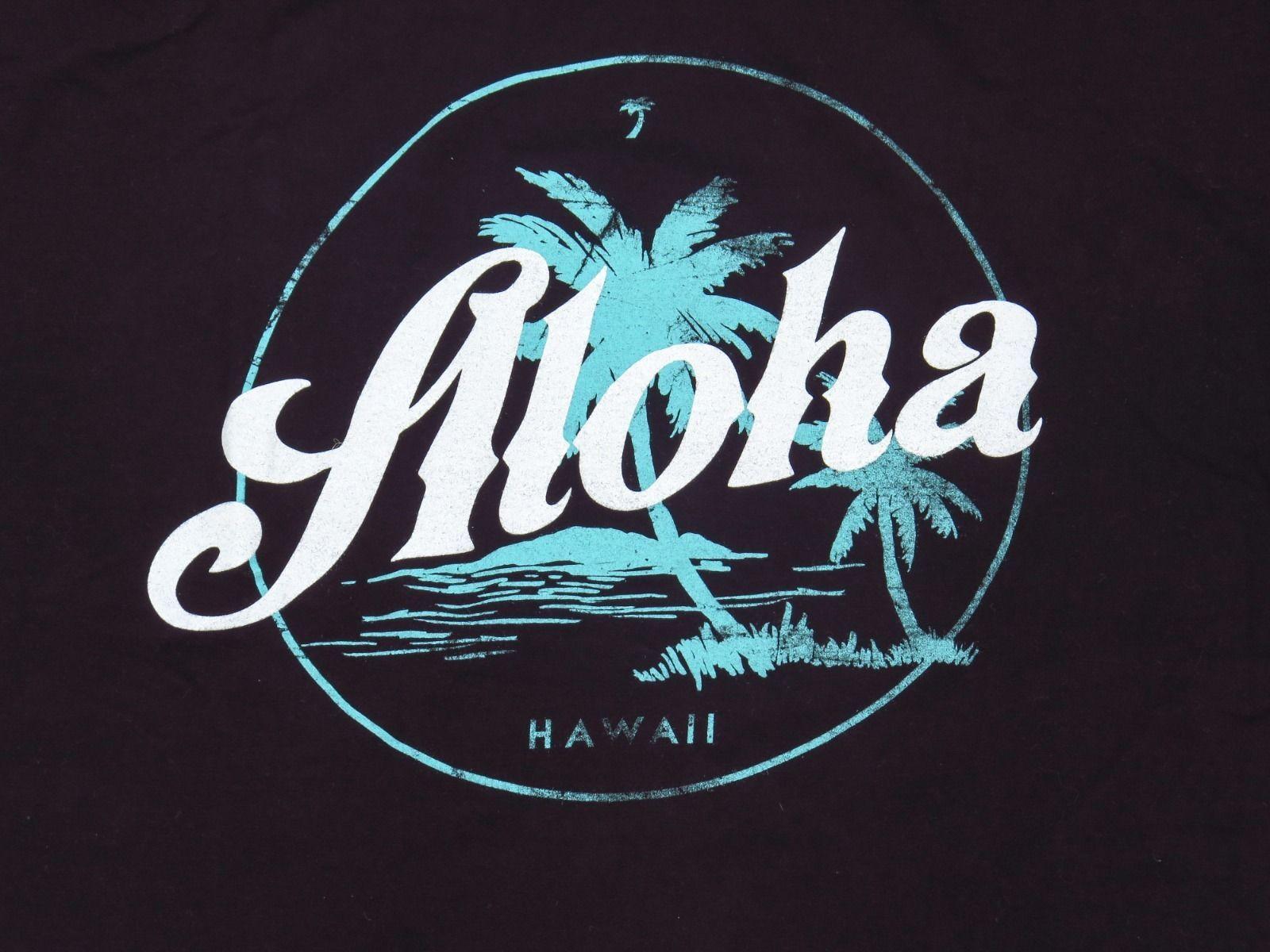 e7de4b7b Men's Local Motion Aloha T Shirt Black Size XL Hawaii Surf Tee Excellent |  eBay
