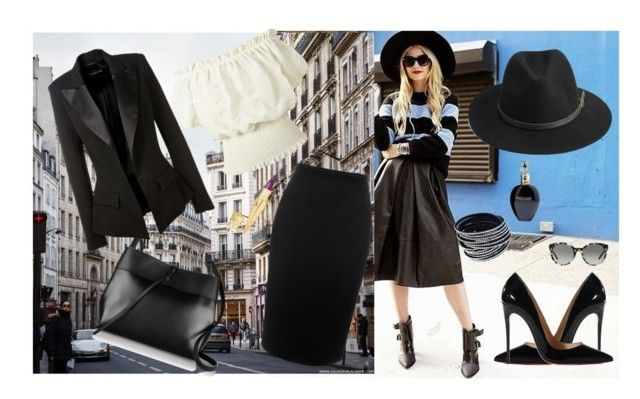 """""""Untitled #95"""" by inna-95 ❤ liked on Polyvore featuring Alexander McQueen, Kara, Christian Louboutin, Alexandre Vauthier, BeckSöndergaard, Tory Burch and Roberto Cavalli"""