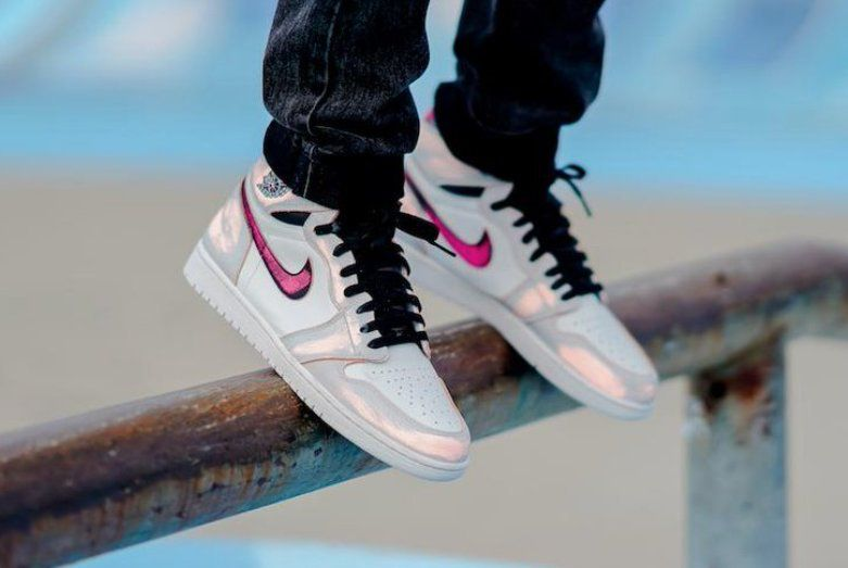64f279c3 Nike SB x Air Jordan 1 Retro High OG Light Bone   Sneakers in 2019