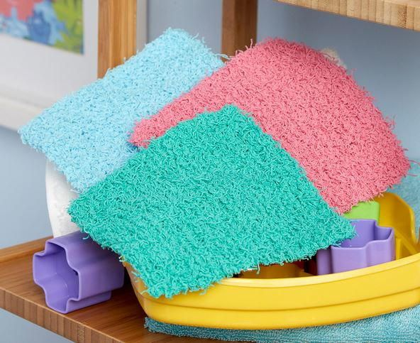 Simple Square Scrubby