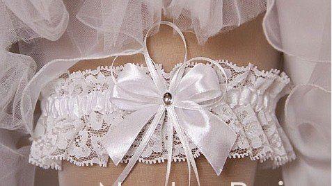 Свадебная подвязка своими руками 276