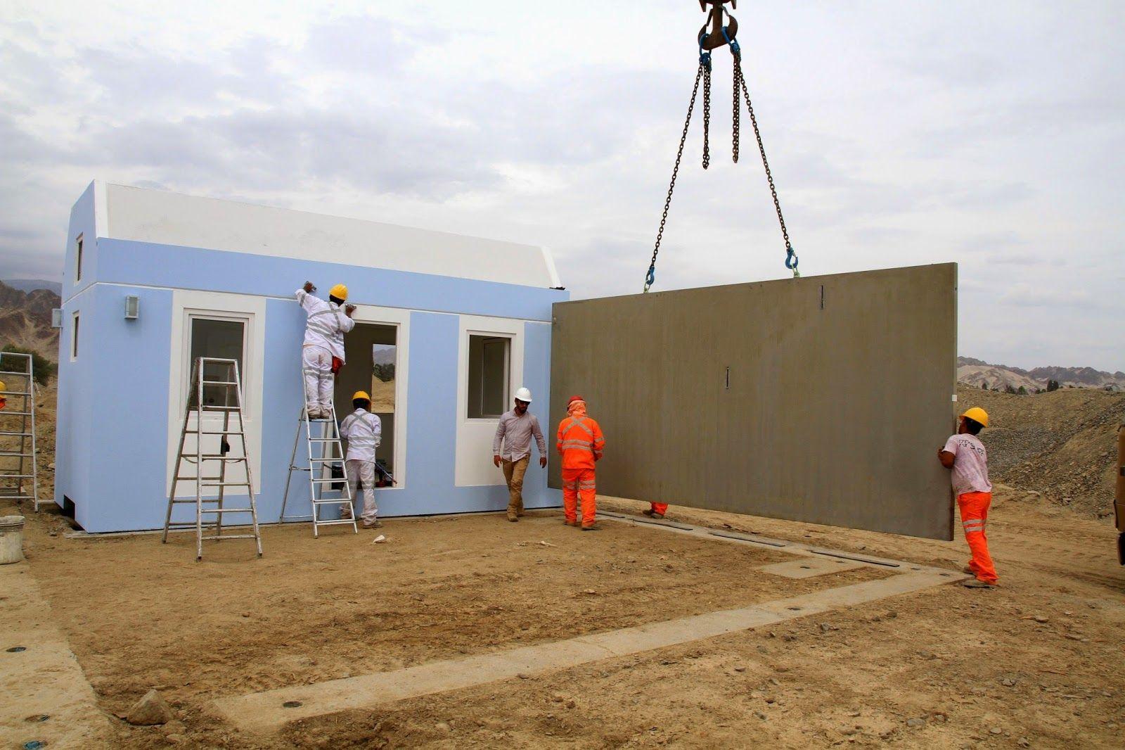 Modular Home Builder Concrete Modular Homes Being Produced In Peru Casas Modulares Casas Modulares