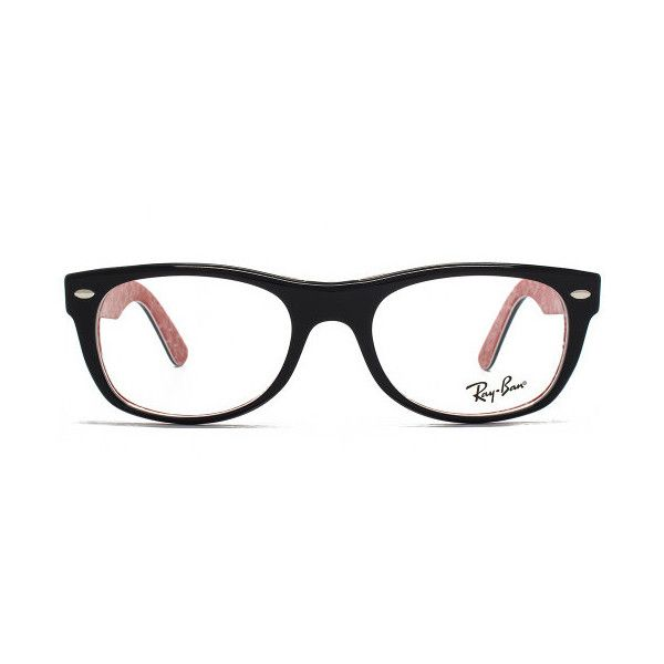 7c4774b7d1d Ray-Ban RX5184 New Wayfarer Glasses (180 AUD) ❤ liked on Polyvore featuring